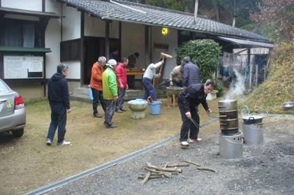 岡山禅会と室戸の靭(ウツボ)